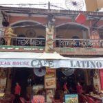 パブストリートにあるカフェ・ラティーノのステーキがおいしかった!