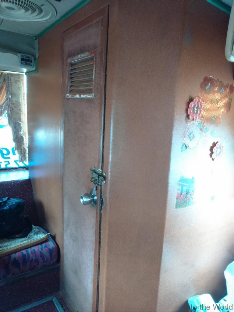 メコンエクスプレス(Mekong Express) メコンバス 車内 トイレ