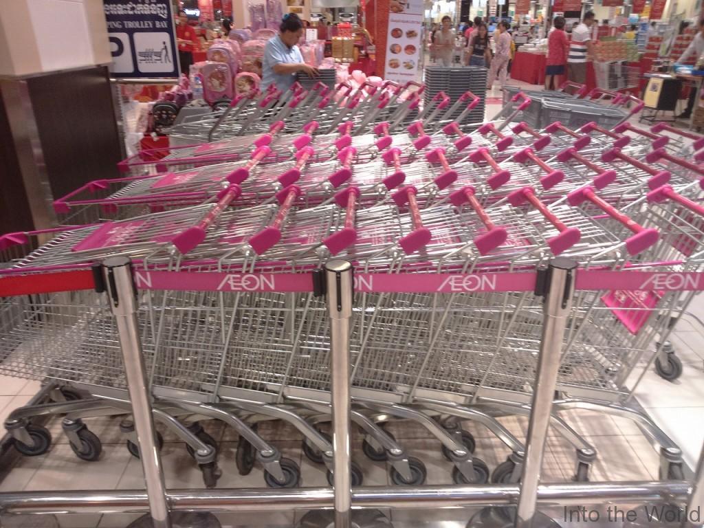 イオンモール プノンペン スーパー