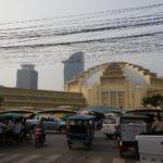 カンボジア プノンペンにある二つの有名マーケットを散策