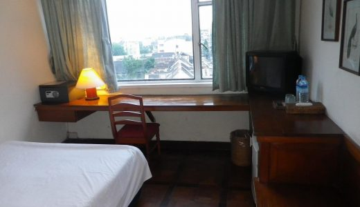 ミャンマー・ヤンゴンのタマダホテルは穴場