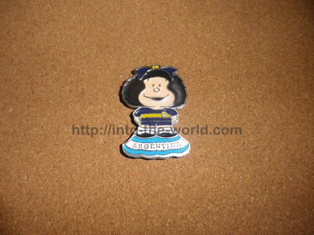 アルゼンチン マグネット マファルダ Mafalda
