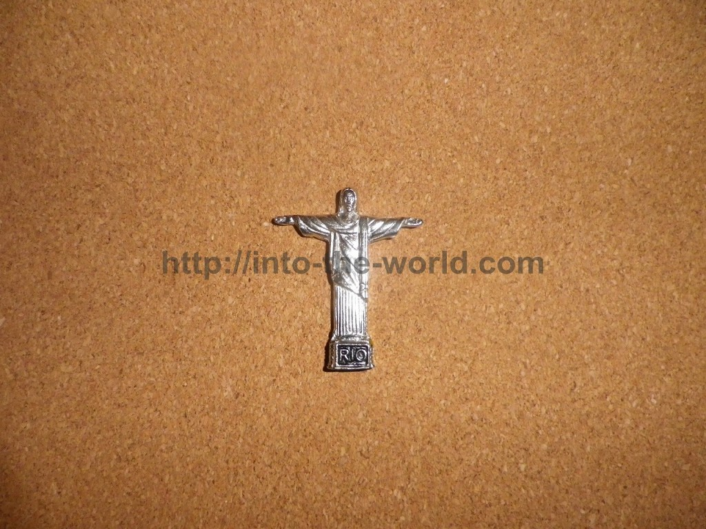 ブラジル コルコバード キリスト像 マグネット お土産