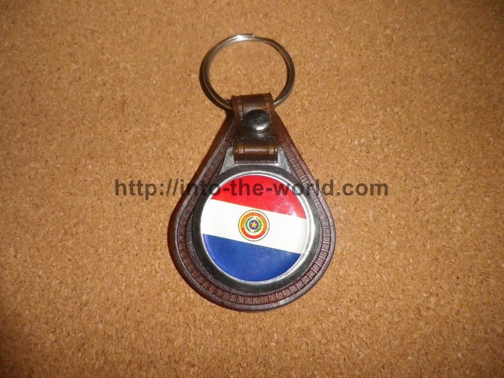 パラグアイ キーホルダー 写真画像