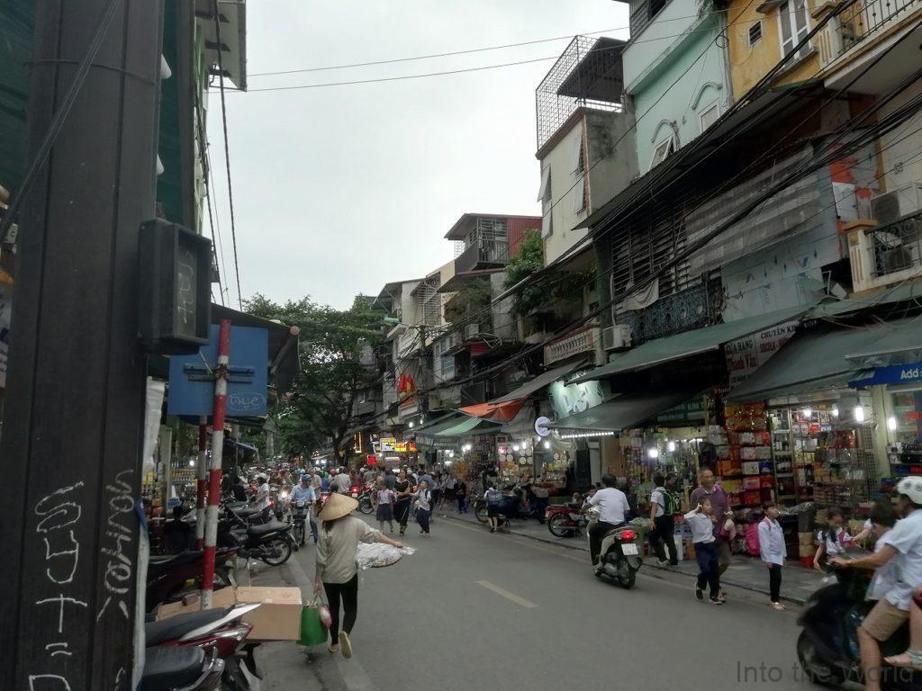 ハノイ旧市街 ベトナム