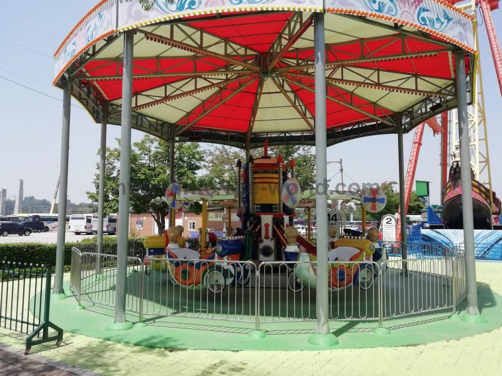 臨津閣 遊園地 写真