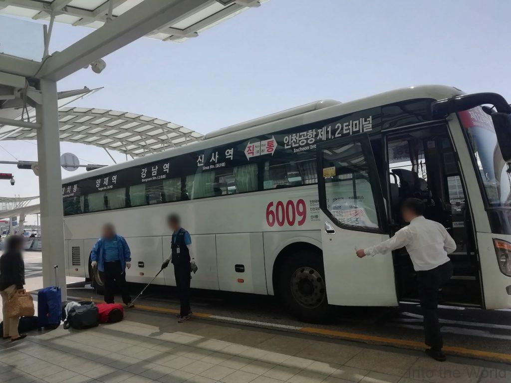 東横インソウル江南 リムジンバス 写真