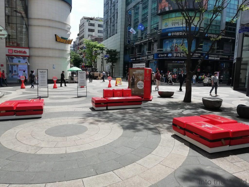 韓国 ピエロショッピング 明洞 写真