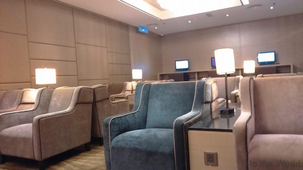 マレーシアのペナン国際空港(Penang International Airport)のラウンジ