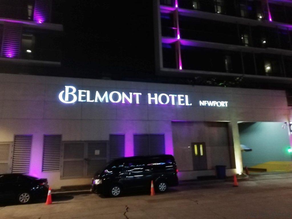 マニラ空港ターミナル3 ランウェイマニラ ベルモントホテル