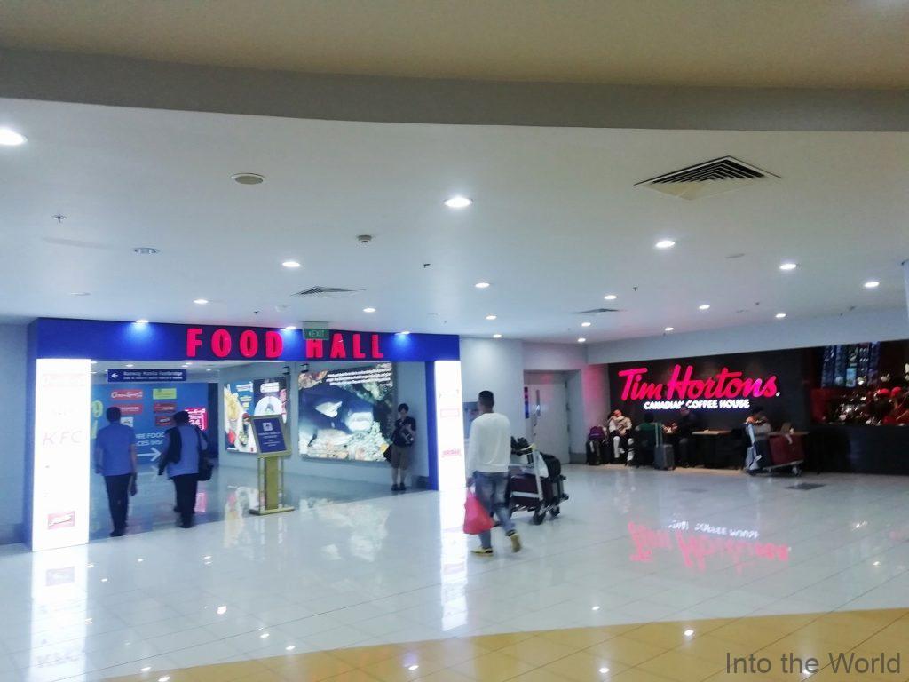 マニラ空港 ターミナル3 飲食店