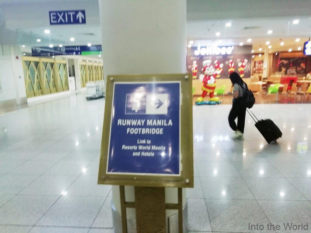 マニラ空港ターミナル3からベルモントホテルへの行き方