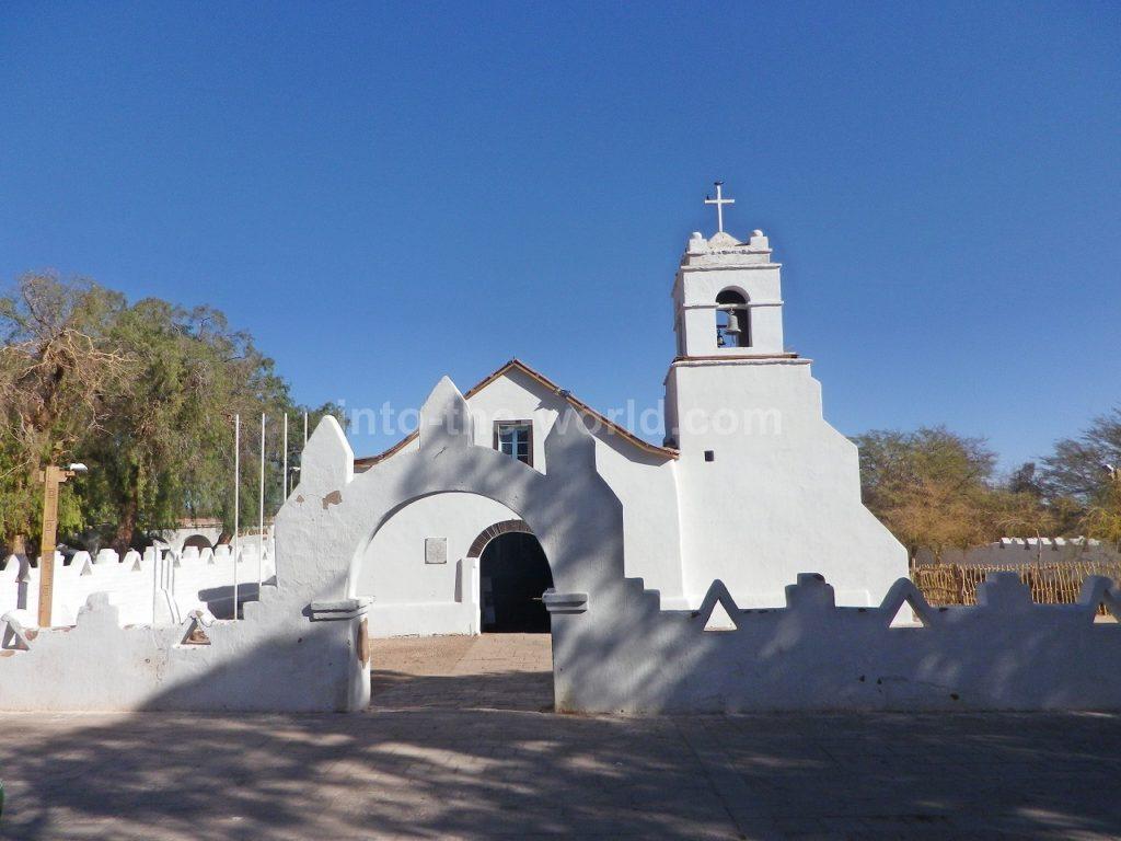サンペドロ・デ・アタカマ チリ 教会