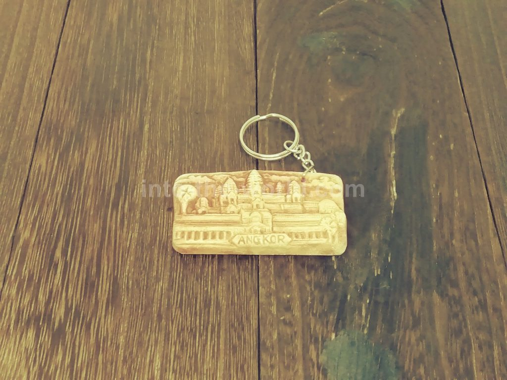 カンボジアのキーホルダー(アンコールワット)