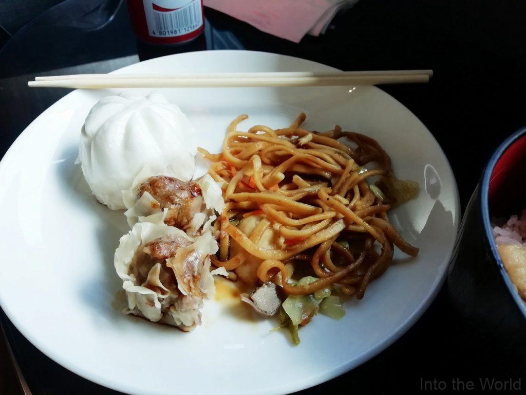 マニラ空港 ターミナル3 PAGSSプレミアムラウンジ PAGSS Premium Lounge 日本食
