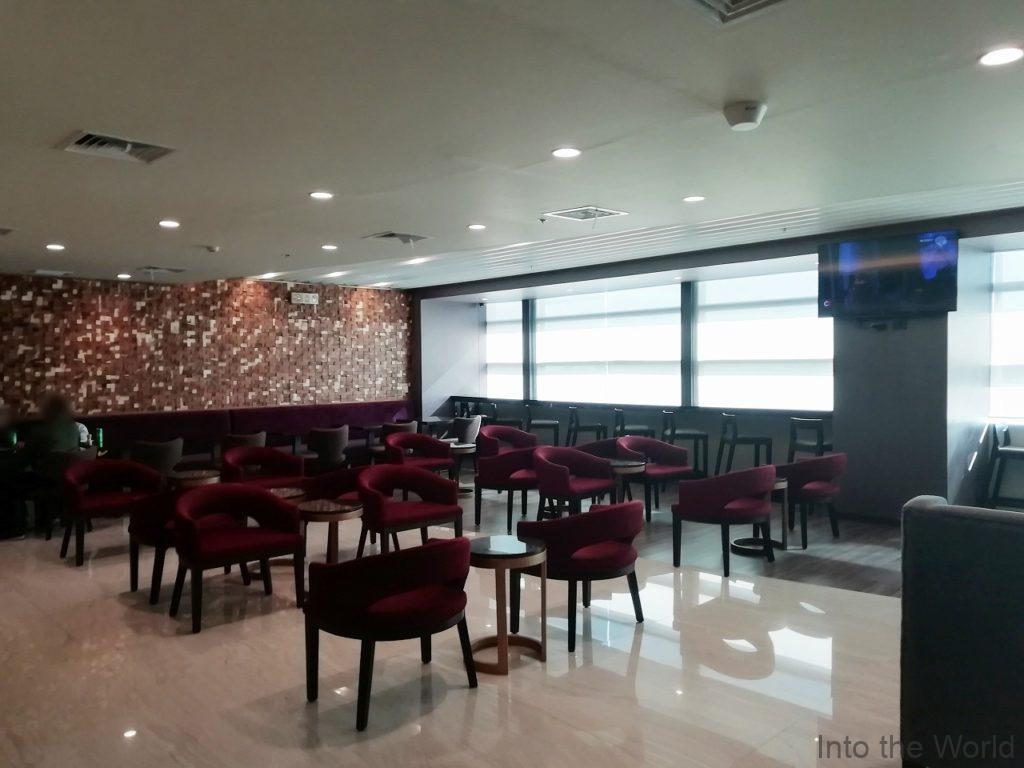 マニラ空港 ターミナル3 パシフィッククラブラウンジ Pacific Club Lounge
